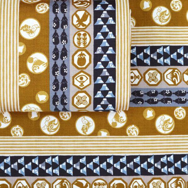 Japanese Pattern Mix - Brown