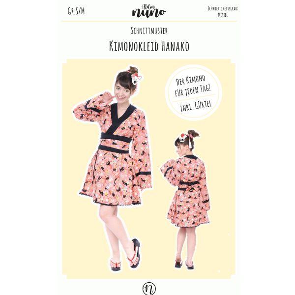 Schnittmuster Kimonokleid Hanako