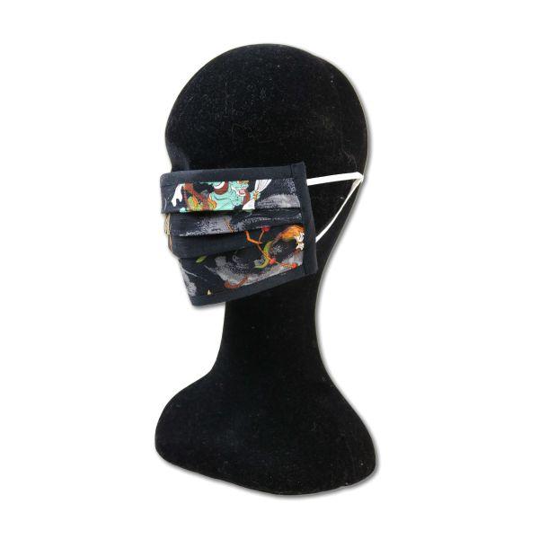 Behelfsmaske - Dämonen - Black