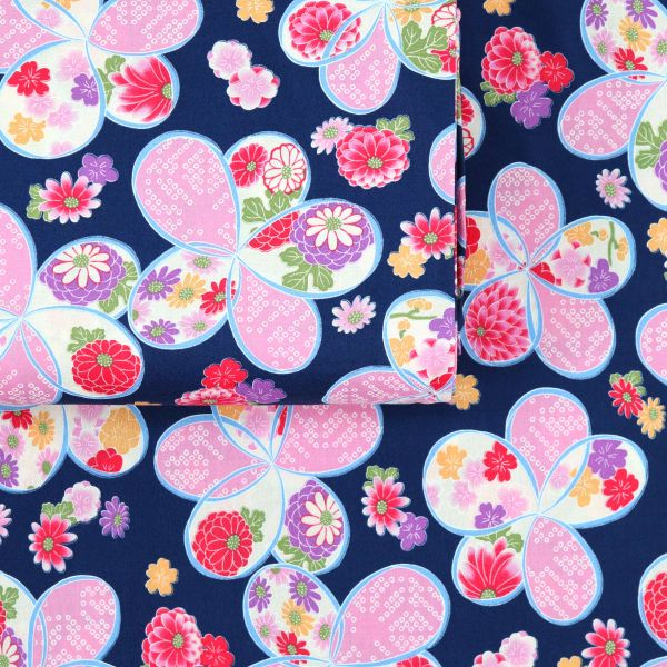Flower Style Japan - Blue Pink