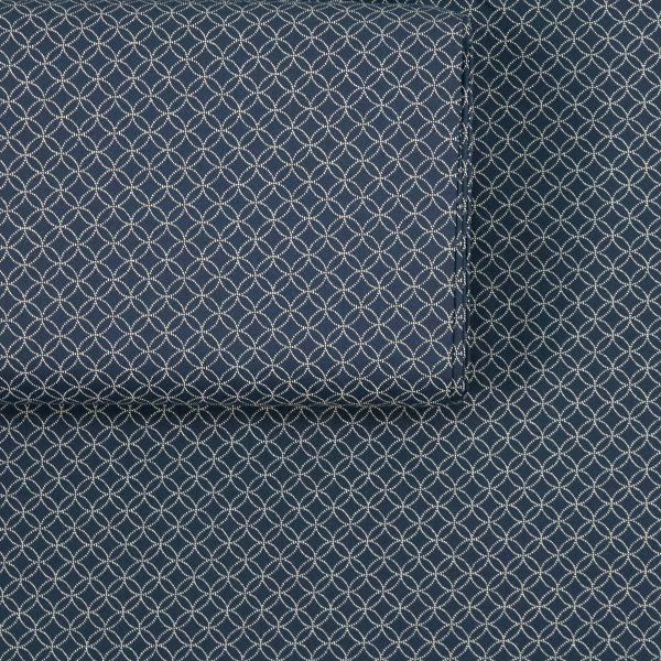 Small dotted Shippou - Deep Blue