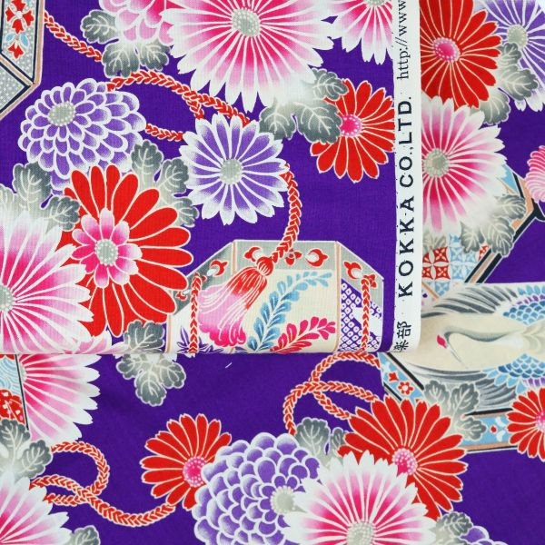 Kimono Style - Purple