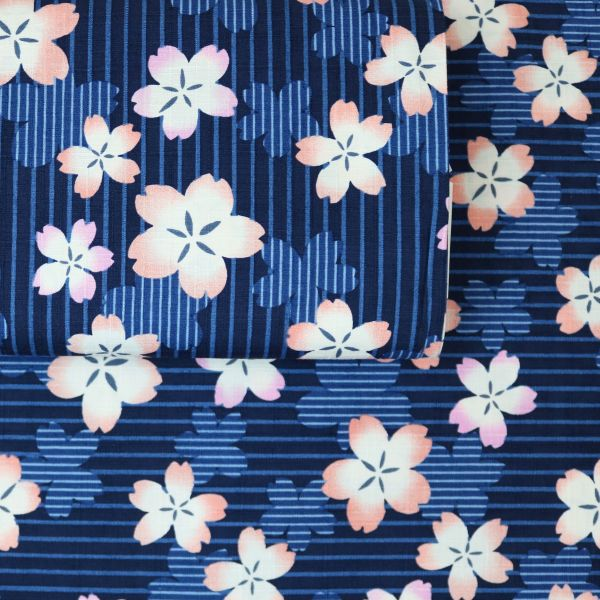 Hanami Stripes - Blue