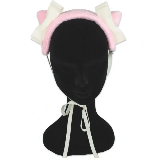Cat Ears Momo - Candy Rose