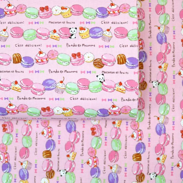 Panda et Macarons - Pink