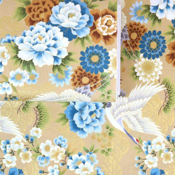 Kranich & Flowers - Creme