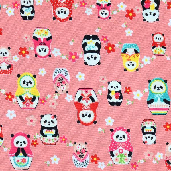 Panda Matroschka - Peach