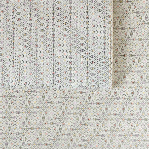 Asanoha Dotted - Creme