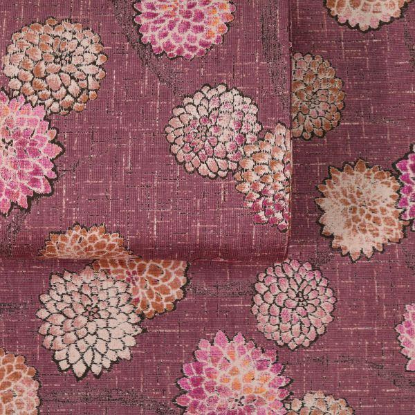 Vintage Style Flowers - Bordeaux