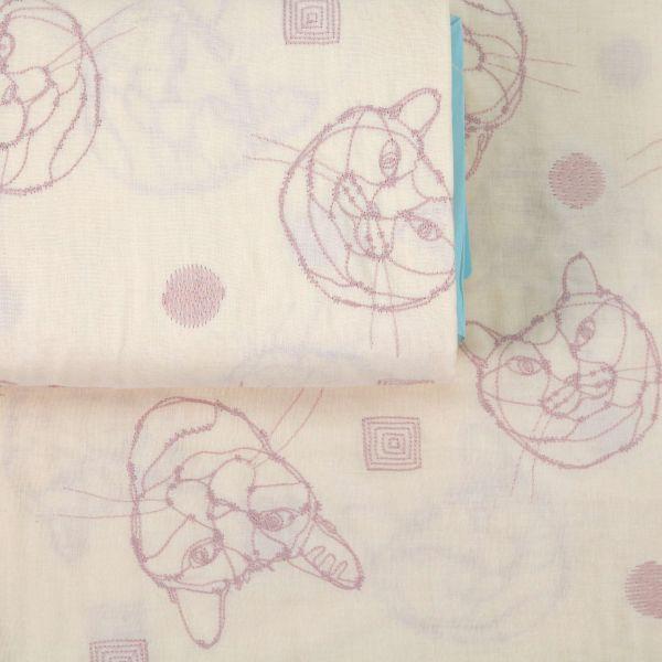 Hayu - Cat Drawings - Creme