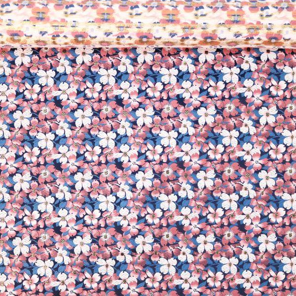 Small Sakura - Blue & Pink