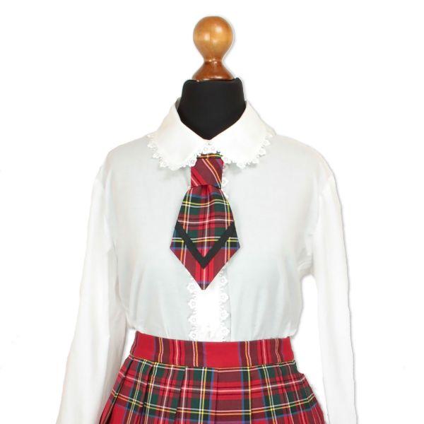 Krawatte Pochi - Scottish Red