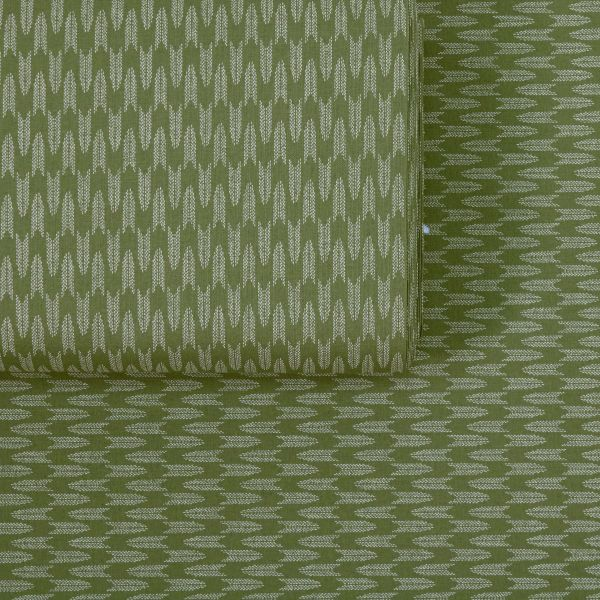 Small dotted Yagasuri - Green