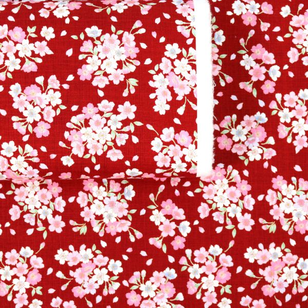 Sakura Flowers - Red