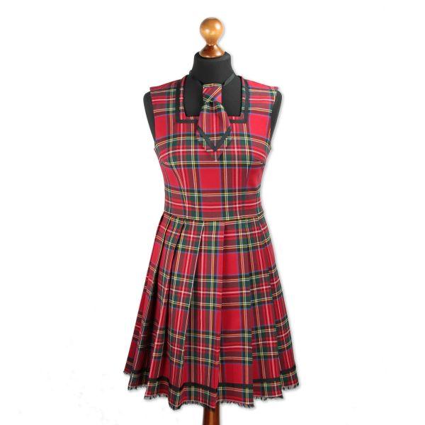 Kleid Tohru - Scottisch Red