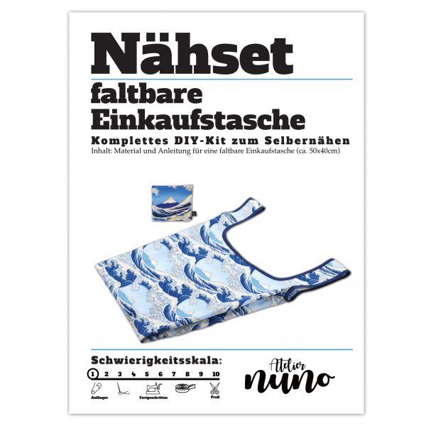 Näh-Set faltbare Einkaufstasche