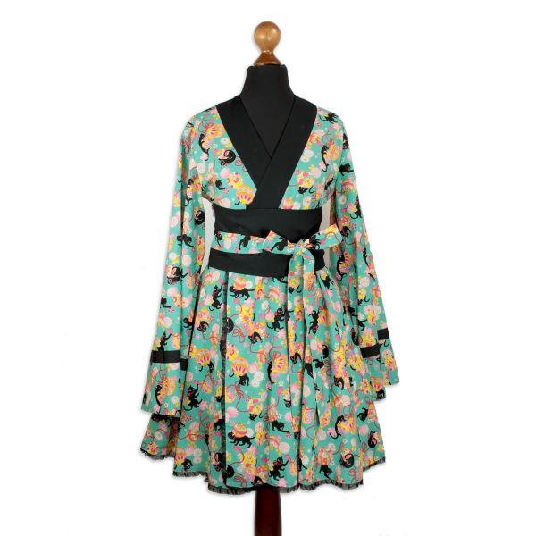Dress Type K - Kuro Neko - Green