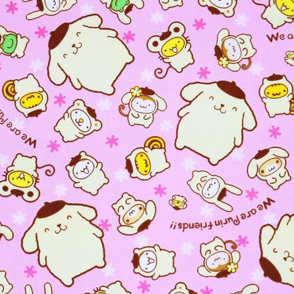 Pompom Purin & Friends - Pink