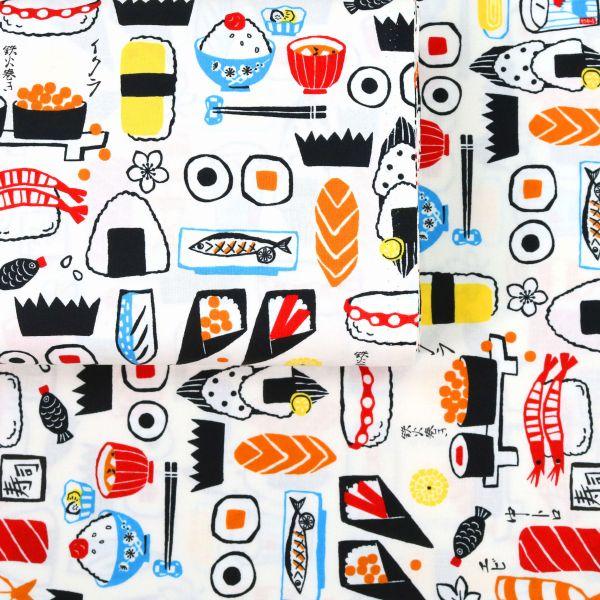 Modern Sushi Style - White