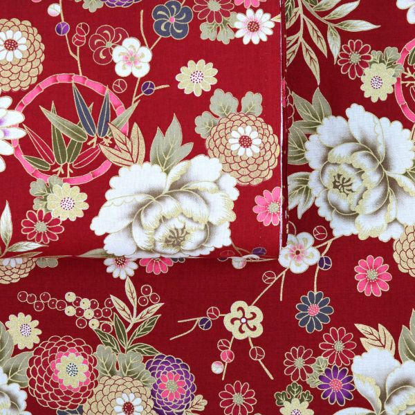 Traditional Style Flowers - Red