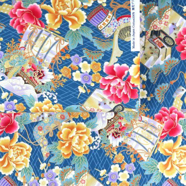 Hana to Samurai - Blue Pink