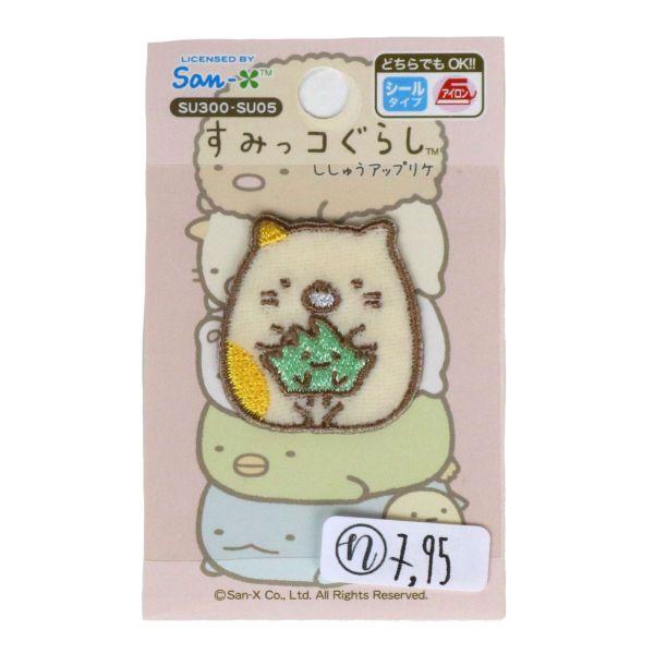 Aufnäher Sumikko Gurashi - Katze