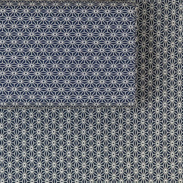 Asanoha Midi - Deep Blue