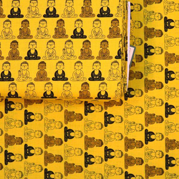 Buddha - Mustard Yellow