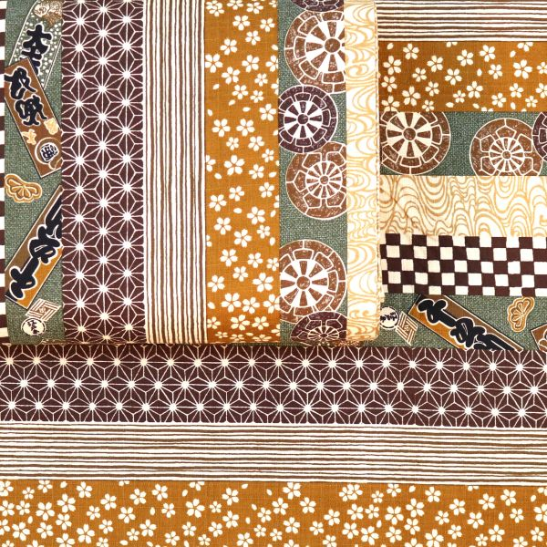 Pattern Mix Japan - Brown