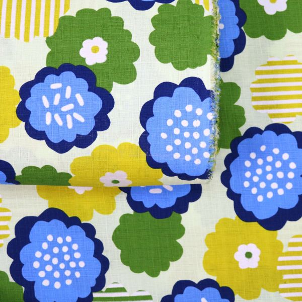 Happy Flowers - Green Yellow