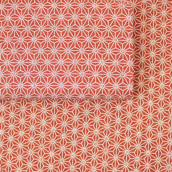 Asanoha Midi - Red