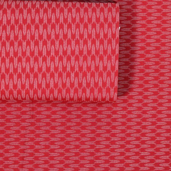 Small Dotted Yagasuri - Red