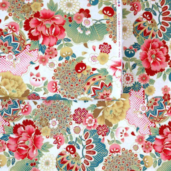 Floral Kimono - Creme