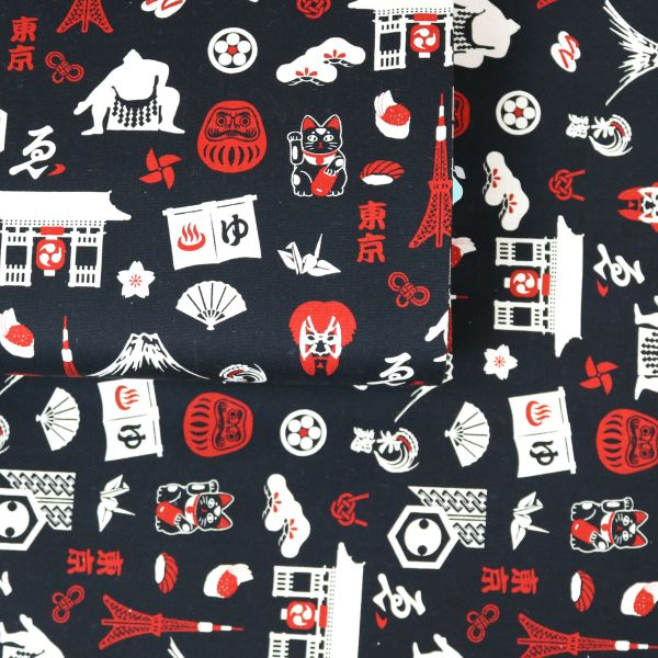 Nihon Symbols - Black Red
