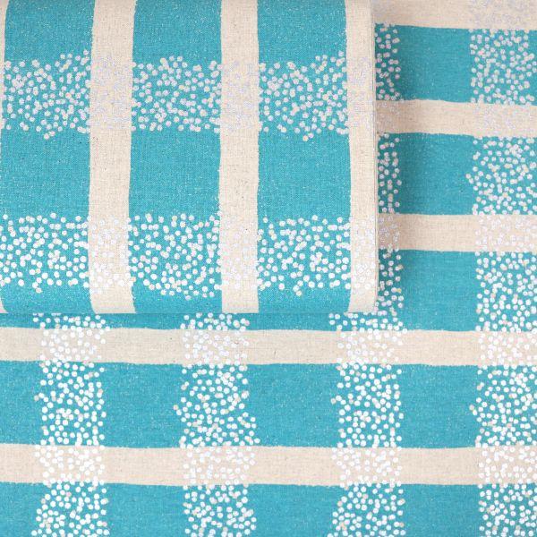Big Stripes - Echino - Light Blue