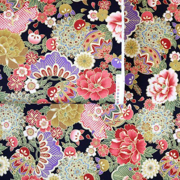 Floral Kimono - Black
