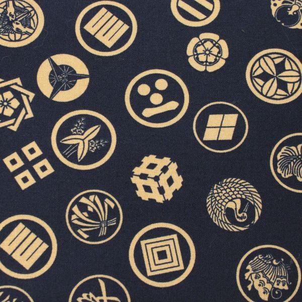 Traditional Symbols - Deep blue