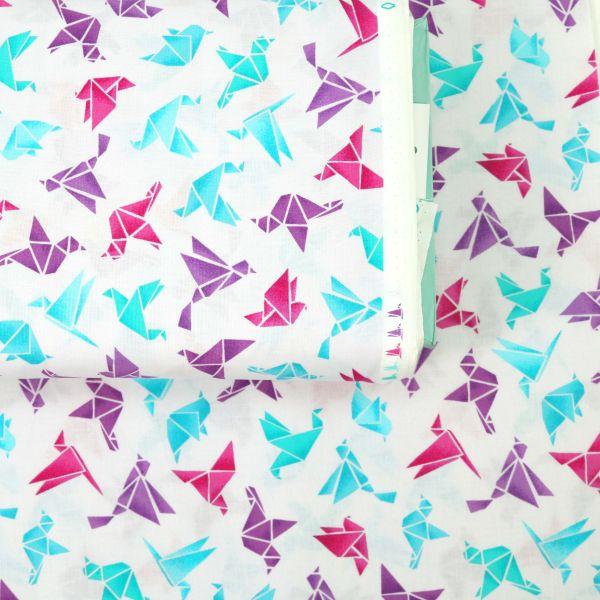 Origami Animals - Pink Blue