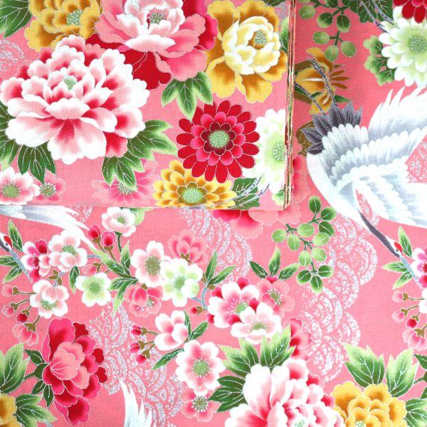 Kranich & Flowers - Pink