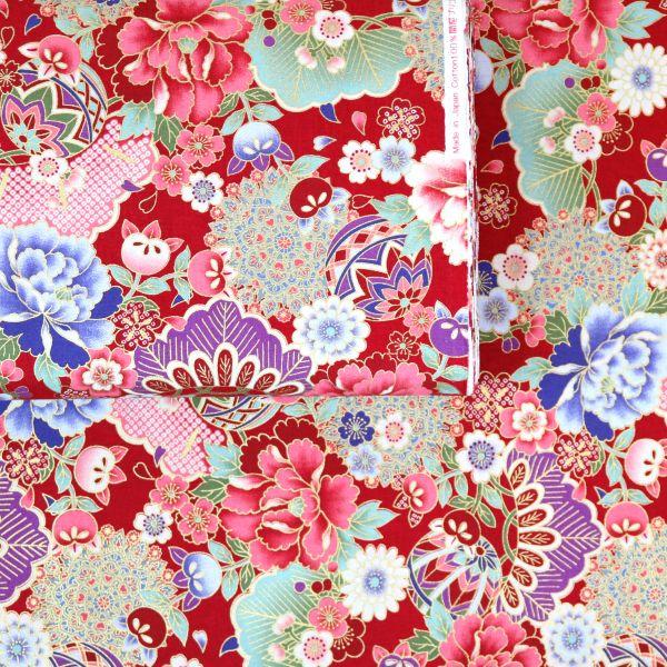 Floral Kimono - Red