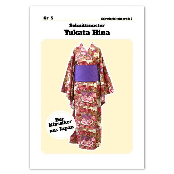Schnittmuster Yukata Hina