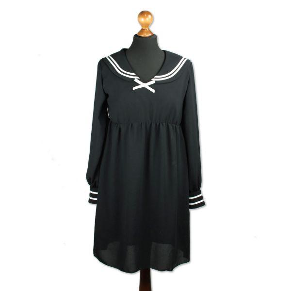 Kleid Umi - Deep black