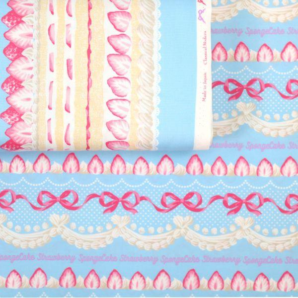 Spongecake Strawberry - Soft Blue