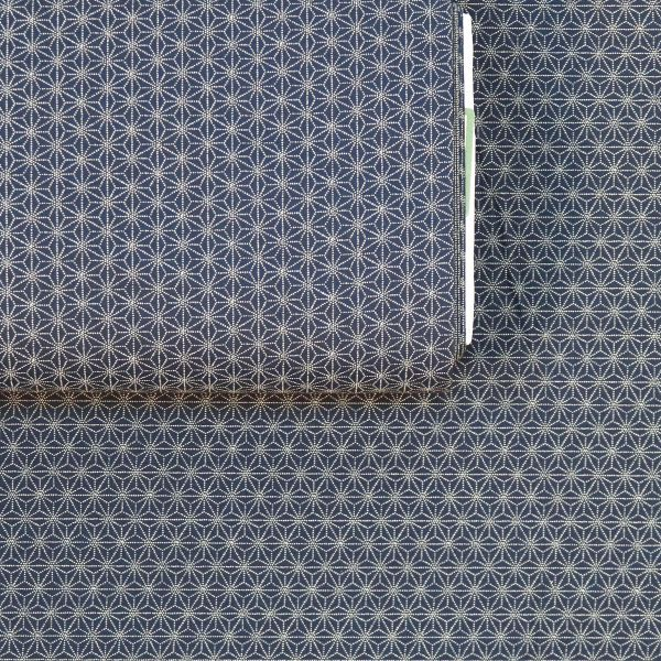 Small Asanoha Dotted - Deep Blue