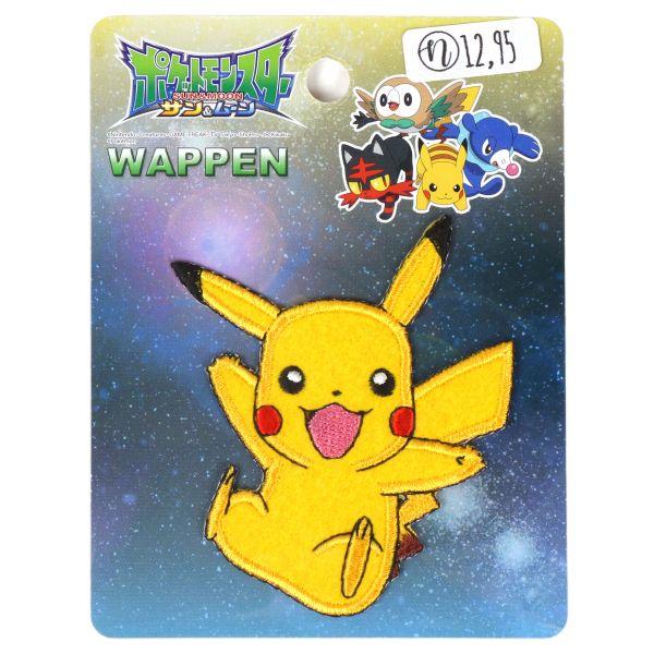 Aufnäher Pokémon - Pikachu